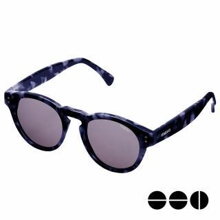 【KOMONO】CRAFTED工藝款手工太陽眼鏡 Clement(迷幻靛藍)