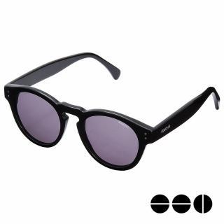 【KOMONO】CRAFTED工藝款手工太陽眼鏡 Clement(煙燻黑)