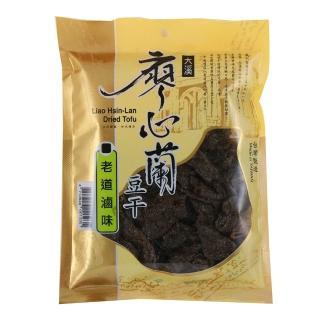 【大溪廖心蘭】老道滷味豆干
