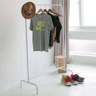 【樂活主義】日系簡約ㄇ型吊衣桿衣架/吊衣架/衣帽架/曬衣架(兩色可選)