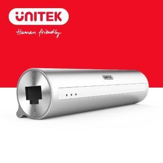 【UNITEK 優越者】Type-c轉3埠USB3.0HUB有線網卡(Y-3095)