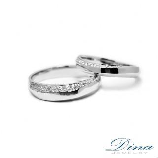 【DINA JEWELRY蒂娜珠寶】『永恆』 美鑽對戒(鑽石對戒 系列)