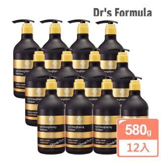 【台塑生醫】Dr's Formula髮根強化洗髮精(580g*12入)