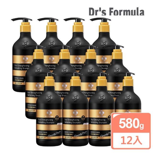 【台塑生醫Dr's Formula】髮根強化洗髮精 清爽感-升級版(580g*12入)