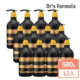 【台塑生醫Dr's Formula】髮根強化洗髮精 潤澤感-升級版(580g*12入)