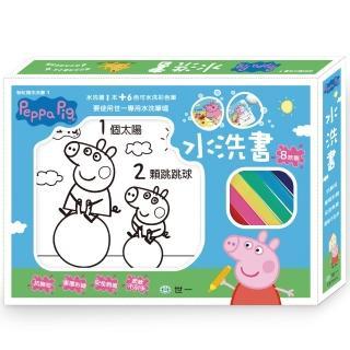 【世一】粉紅豬小妹愛數數水洗書(Peppa Pig)