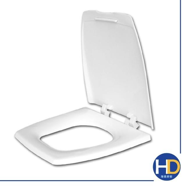 【雙手萬能】通用型單體方形馬桶蓋(白)