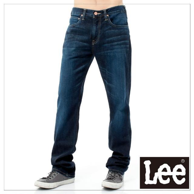 【Lee】743 中腰舒適小直筒-男款-原藍(中腰、小直筒)