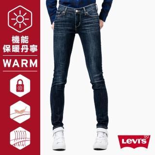 【Levis】711 中腰超緊身窄管牛仔褲 / Warm / Thermolite / 亞洲版