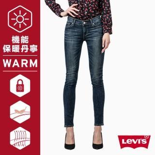 【Levis】711 中腰超緊身窄管牛仔褲 / Warm / Thermolite / 深夜靛藍 / 亞洲版