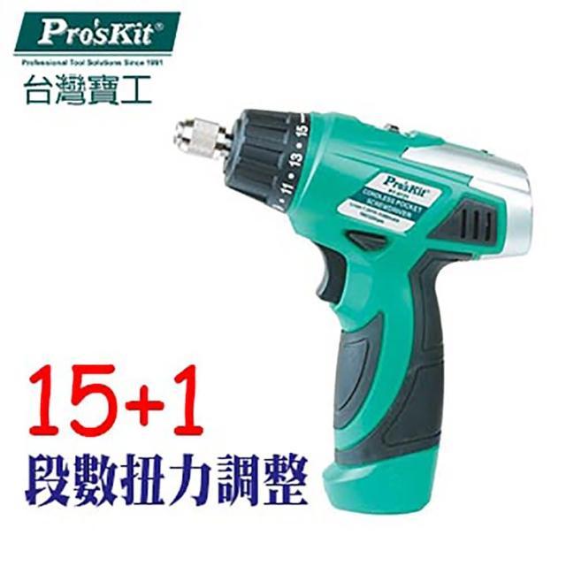 【ProsKit 寶工】7.2V 鋰電池充電起子 PT-0721A