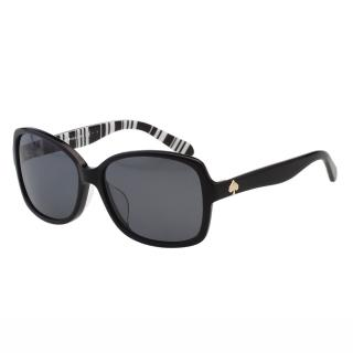 【Kate Spade】-簡約造型 太陽眼鏡(黑色)