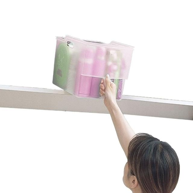 【FUDOGIKEN】日本製造 高位層板專用-手持收納籃(10公升)