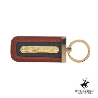 【B.H. POLO】比華利保羅經典LOGO鑰匙圈(綠格 / BH-2055)