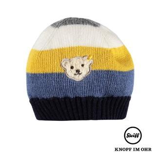 【STEIFF德國精品童裝】毛帽 條紋(帽子)