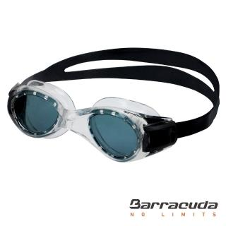 【美國巴洛酷達Barracuda】7-15歲青少年專業訓練系列抗UV防霧泳鏡TITANIUM JR#30920(適用7到15歲)