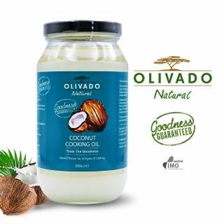 【OLIVADO】紐西蘭原裝進口椰子油1瓶(500毫升)