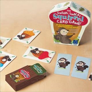 【Educational Insights 美國兒童益智桌遊 - 小松鼠遊戲卡】