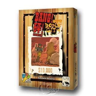 【新天鵝堡桌遊】砰!道奇市擴充 Bang: Dodge City(玩家跑團讚)