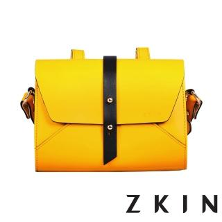 【ZKIN】Retro Harpy 經典復古單肩相機包(檸檬黃/類單眼適用)