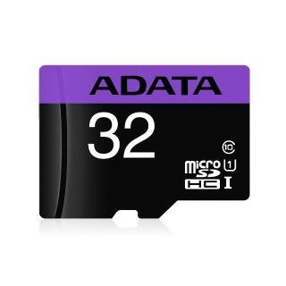 【ADATA威剛】Premier microSDHC UHS-I U1 32G記憶卡(附轉卡)