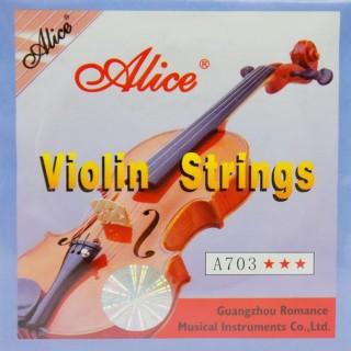【美佳音樂】Alice A703小提琴琴弦組(鋼絲型)