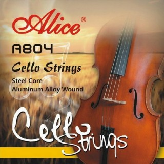 【美佳音樂】Alice A804 大提琴套弦(優質鋼芯/鋁鎂纏弦)