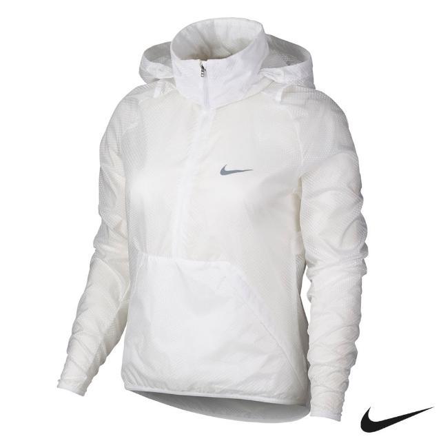 【Nike Golf】防風 連帽 運動外套(白802938-100)