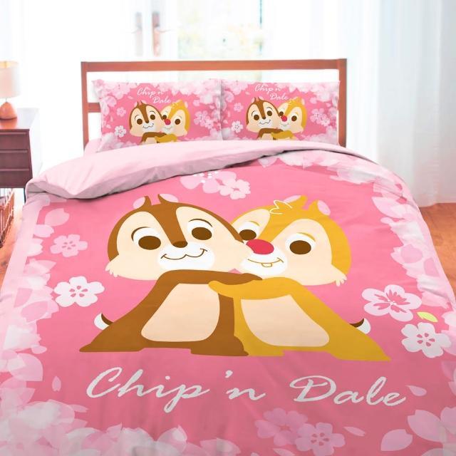 【享夢城堡】雙人床包兩用被套四件式組(拉拉熊Rilakkuma 輕鬆過生活-米黃)