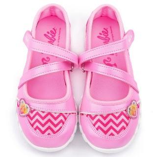 【童鞋城堡】Barbie芭比 中大童 甜心休閒鞋(BR7817-粉)