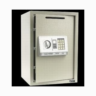 【TRENY】三鋼牙電子式側投入式保險箱-大型 50EA-DS
