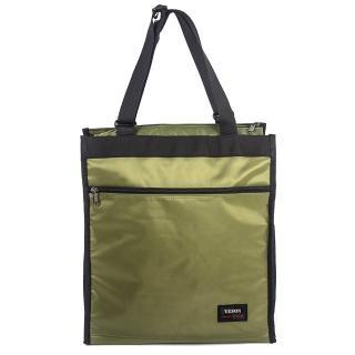 【YESON】大容量 休閒購物手提袋二色可選(MG-1136)