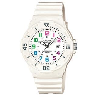 【CASIO】運動潛水風格腕錶(LRW-200H-7B)