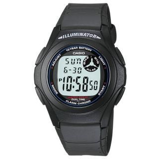 【CASIO】能量百分百數位錶(F-200W-1A)