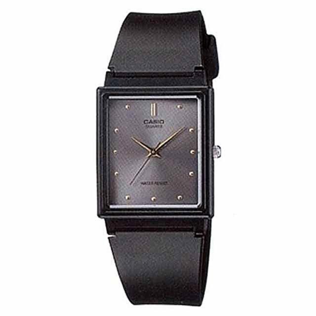 【CASIO】時尚簡約方款腕錶(MQ-38-8A)