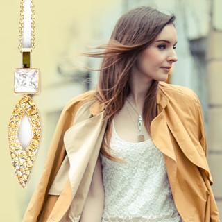 【Anna Lou Of London】倫敦品牌 hammered diamond方鑽金項鍊(絕版品 售完不補)
