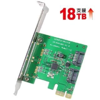 【伽利略】PCI-E SATA III 2 PORT 擴充卡(PES320A)