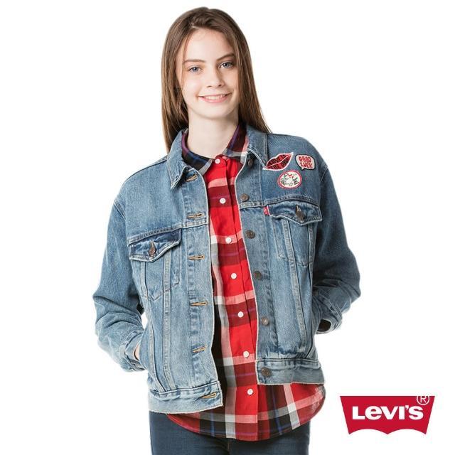 【Levis】牛仔外套 / EX-BOYFRIEND版型 / 個性貼布