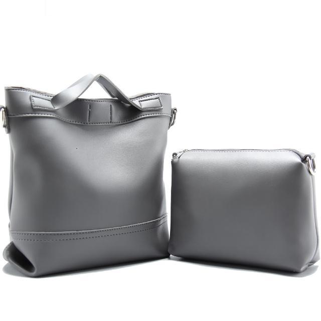 【JW】西西德里時尚簡約子母水桶包(共3色)