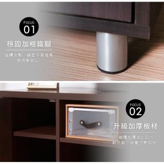 【Akira】MIT居家120cm雙門收納電視櫃(茶几桌 視聽櫃 收納櫃)