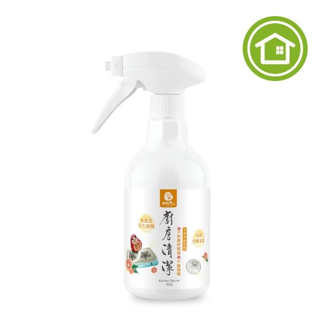 【木酢達人】天然木酢廚房清潔噴霧350ml(抽油煙機油垢好清潔)