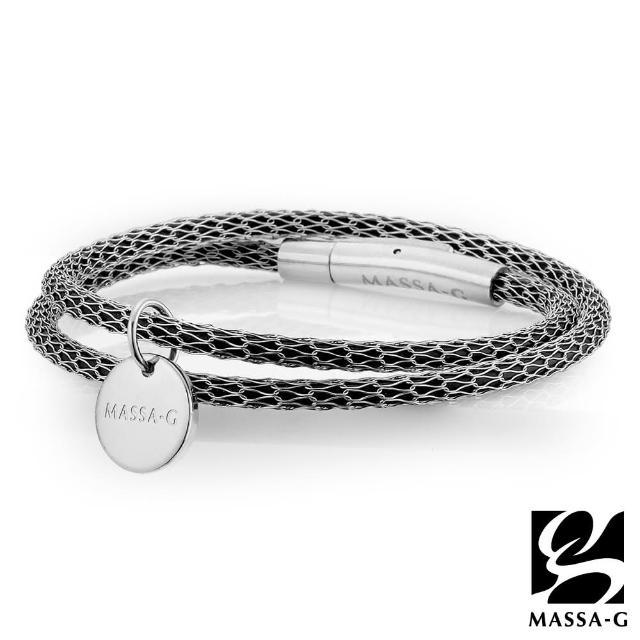 【MASSA-G】Titan XG2 Mini超合金鍺鈦手環(雙圈吊牌款)
