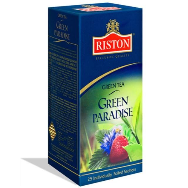 【瑞斯頓Riston】樂園花香綠茶1.5g*25入
