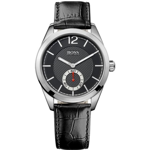 【Hugo Boss Black】簡約流線時尚計時腕錶(H1512793)