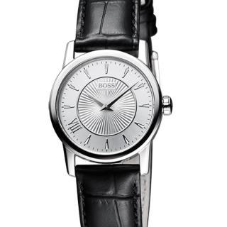 ~Hugo Boss Black~簡約流線 皮帶女錶 H1502328