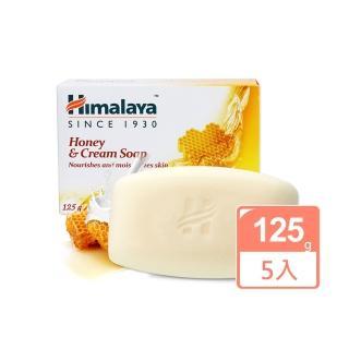【印度 Himalaya喜馬拉雅】蜂蜜乳霜保濕香皂 125g(5入)
