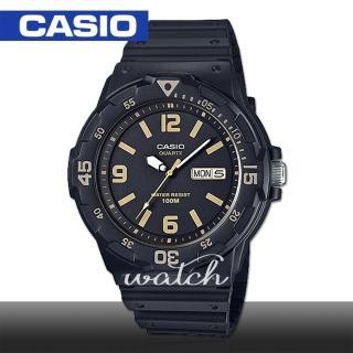 【CASIO 卡西歐】潛水風格-學生/青少年指針錶 鏡面4.4cm(MRW-200H)