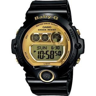 【CASIO】卡西歐 Baby-G 經典率性運動錶-黑(BG-6901-1DR)