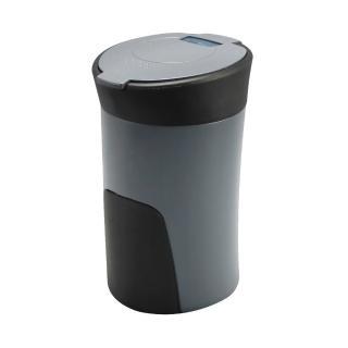 ~ YAC~PZ~760好握感LED煙灰缸~灰色 汽車|收納置物|垃圾桶