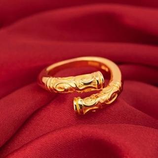 【米蘭精品】戒指流行銀飾品(金箍棒造型時尚經典流行七夕情人節生日禮物2色73ae187)